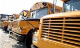 Amerikaanse schoolbus Ommen