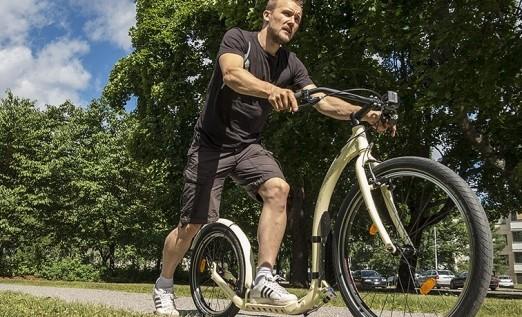 Kickbike in Ommen